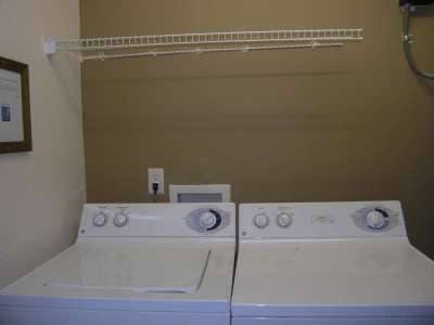 Full size Washer and Dryer on second floor