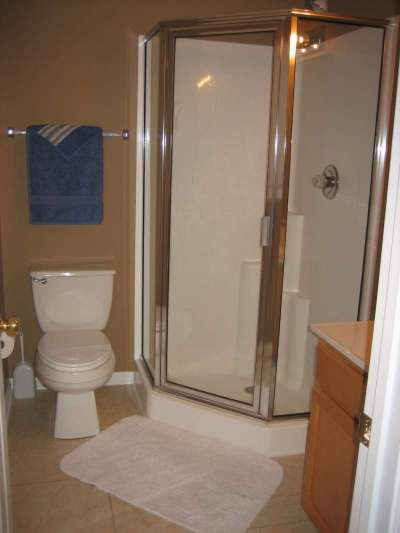 View of Bedroom #4's Private Bathroom